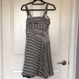 Moschino Dresses - Moschino Black and White Stripes Dress